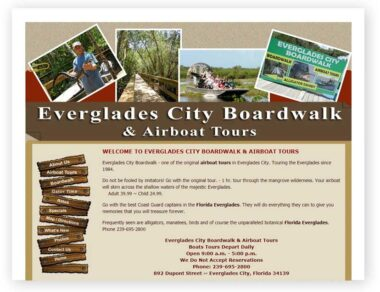 Everglades City Boardwalk and Airboat